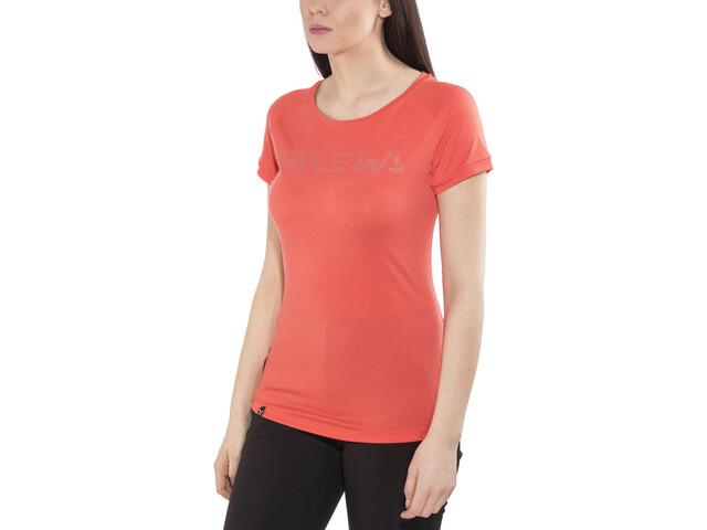 SALEWA Pedroc Delta Dry T-shirt Femme, delta hot coral